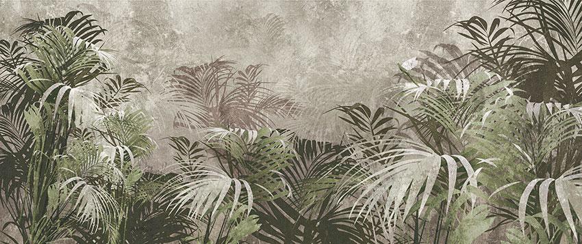 foresta tropicale carta da parati