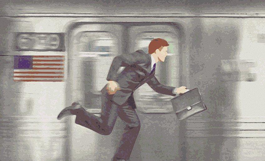 Prima variante grafica dell'immagine che raffigura un treno della metropolitana