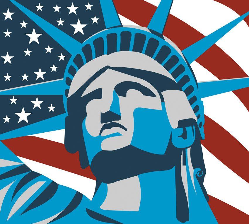 Prima variante di colore per la Statua costruita sulla rocciosa Liberty Island