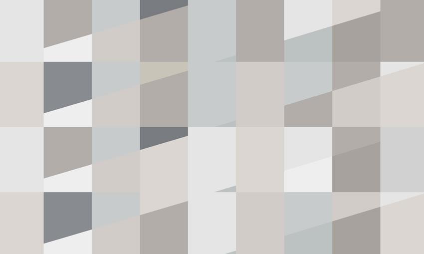 Carta Da Parati Geometrica Tappezzeria Dal Design Geometrico