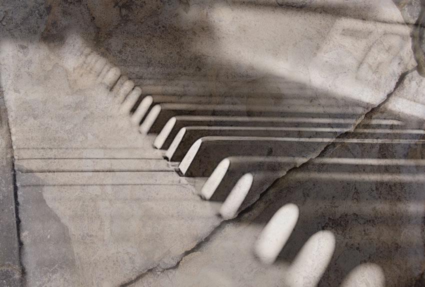 pianoforte carta da parati