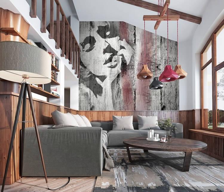 Carta da parati design texture per pareti design di casa - Carte da parati design ...