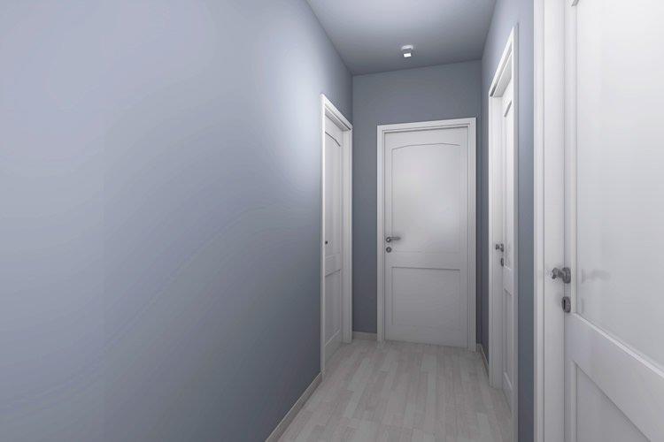 Come arredare un corridoio idee per arredare un - Tinte per pareti di casa ...