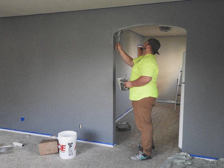colorare pareti casa vintage