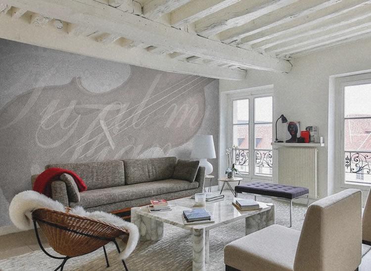 Colorare le pareti di casa stile vintage