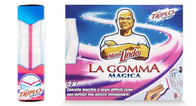 Gomma magica, per la pulizia della carta da parati